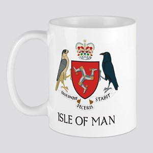 Isle of Man Coat of Arms Mug